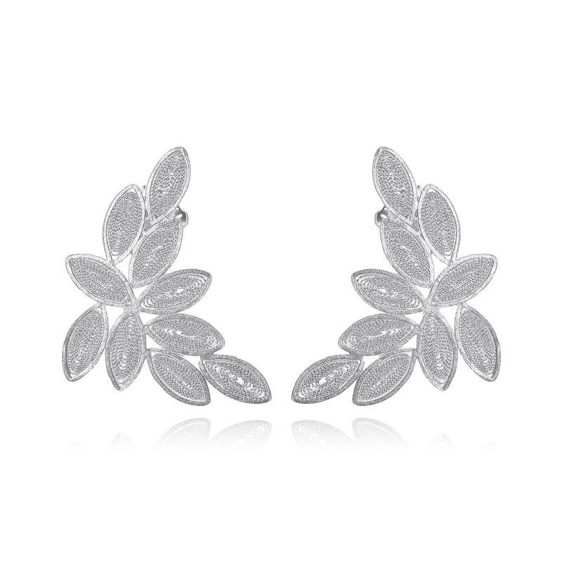 Salomon earrings silver by olmox