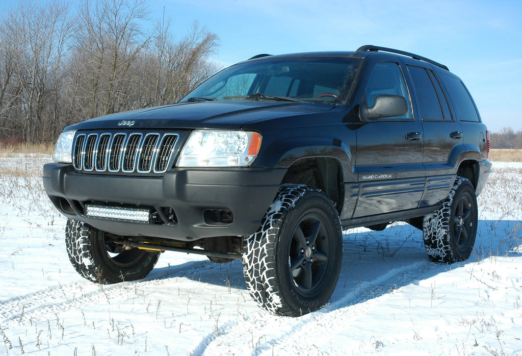 99 04 jeep grand cherokee wj 20in led bumper brackets. Black Bedroom Furniture Sets. Home Design Ideas