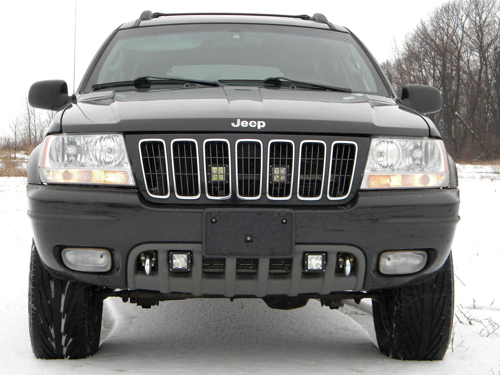 99 04 grand cherokee wj dually d2 led mounting brackets. Black Bedroom Furniture Sets. Home Design Ideas