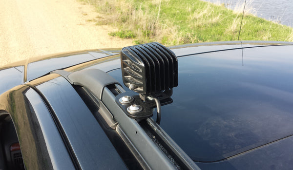 99-04 Grand Cherokee (WJ) Roof Rail Light Mounting Tabs #WJLB4