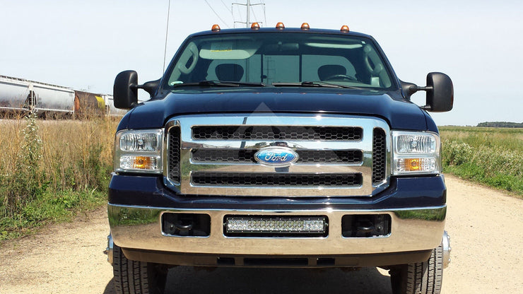05 07 Ford F250 F350 20 Led Light Bar Mounting Brackets 20ledsdm1 4x4 Fabworks