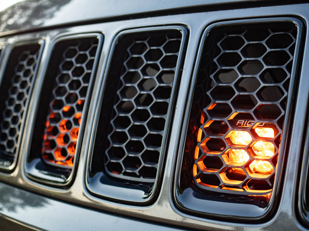 11-18 Jeep Grand Cherokee WK2 LED Grille Bracket #10J029