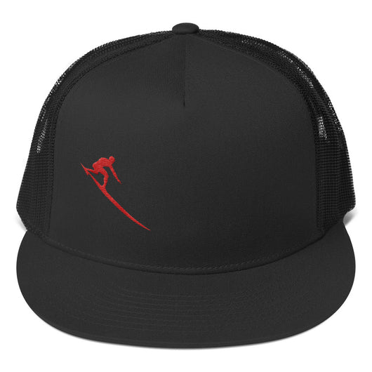 Red Charger Trucker Cap