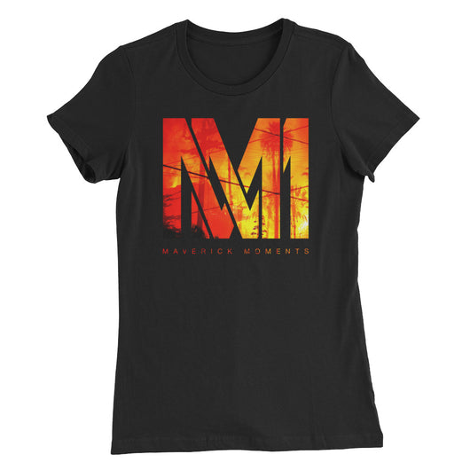 World on Fire - Special Edition Women's Slim Fit T-Shirt