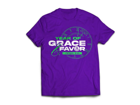 2021 Year of Grace & Favor (T-Shirts)