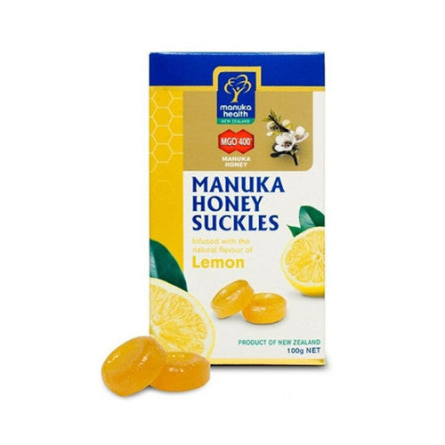 Suckles Manuka Honey MGO 400+ with Lemon, 100 gm