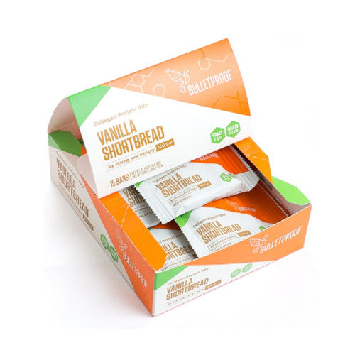 Vanilla shortbread, collagen protein bites (15 pack)