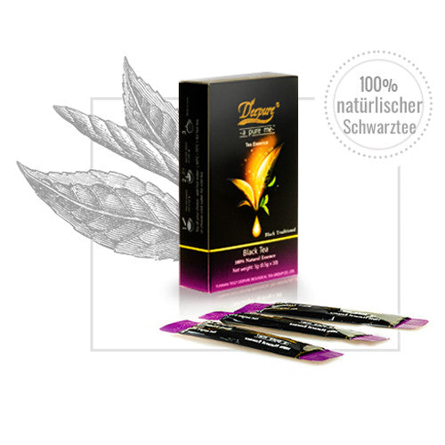 Black tea traditional, instant, pack of 10 sachets, 5g