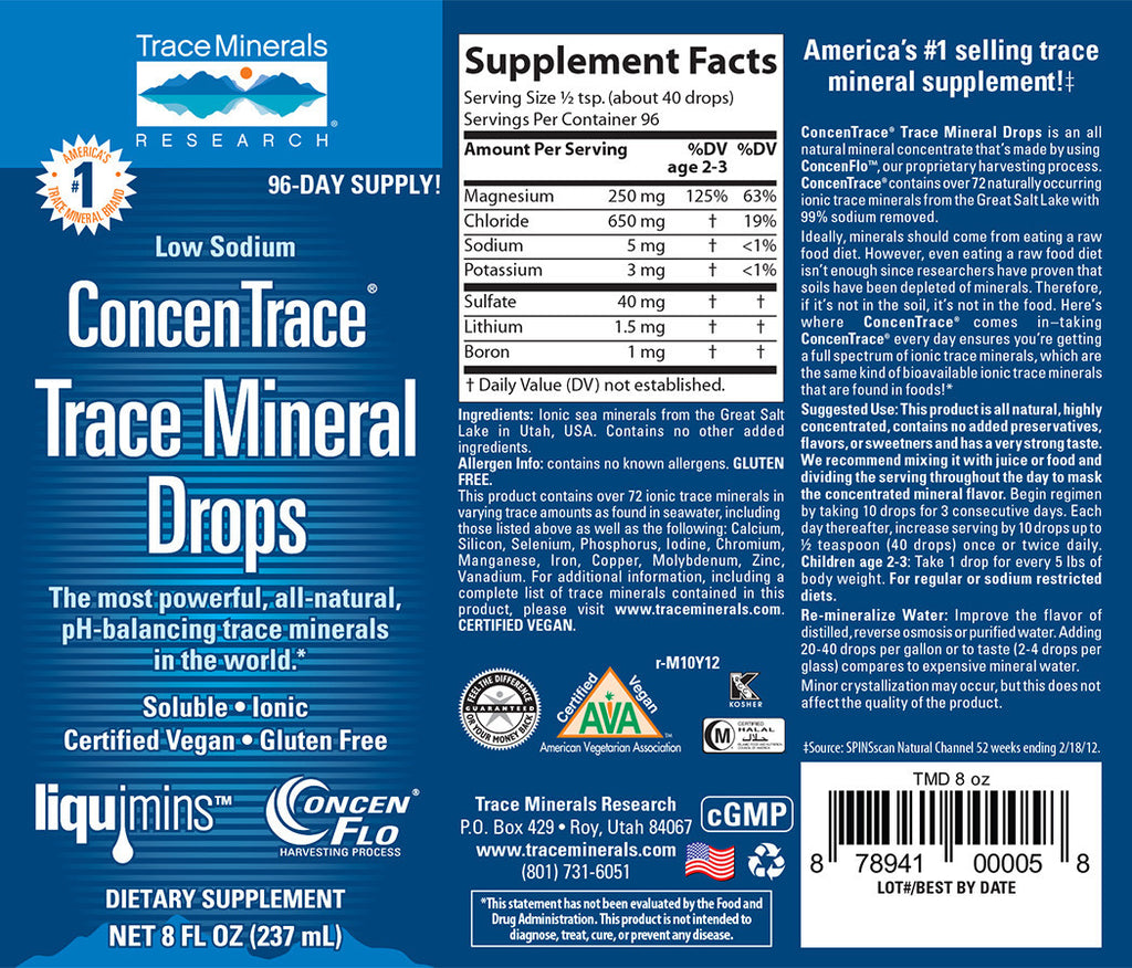 Trace minerals 237 ml lab sant mondiale concentrace minerals 237 ml gamestrikefo Choice Image