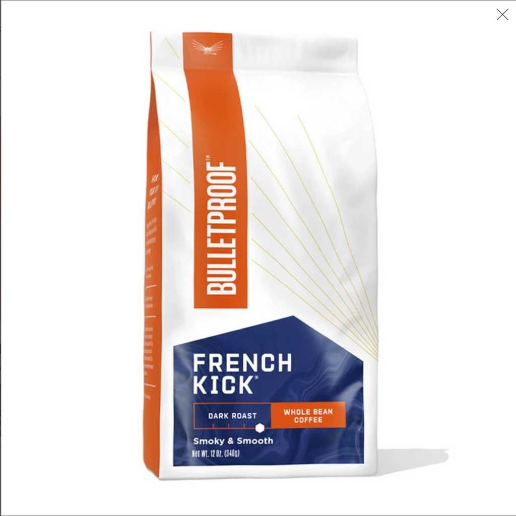 Coffee, French Kick, Whole Bean