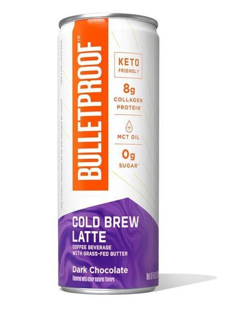 Bulletproof Cold Brew Latte, Dark Chocolate 237ml