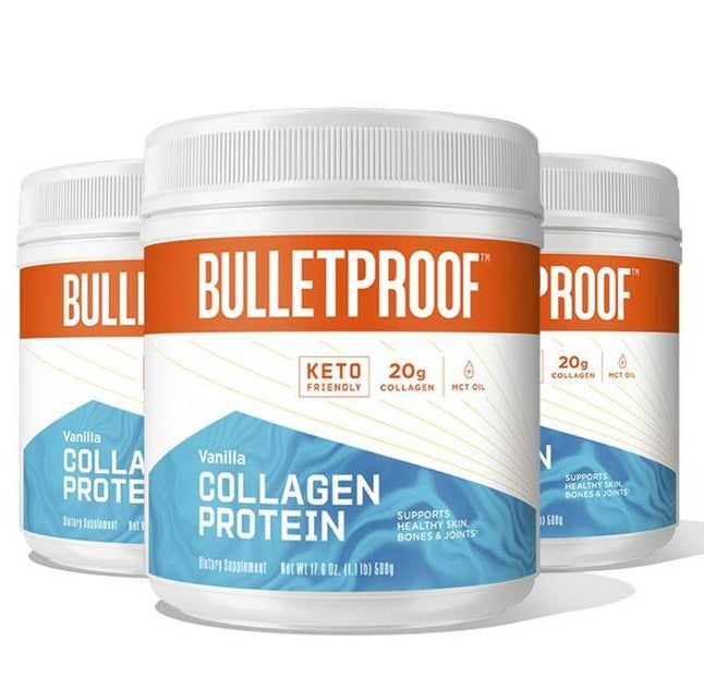 Collagen Protein Vanilla, 500 gm