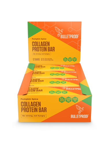 Pumpkin Spice Collagen Protein Bars (12 pack)