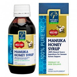 MGO 400+ Manuka Honey Syrup - Adult Formula, 100 ml