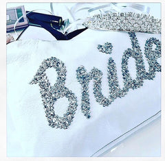 "LEATHER ""BRIDE"" CLUTCH from £28.00"
