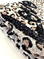 "Leopard Print ""love"" Clutch"