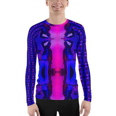 BEEP Me ROCK MERCURY Men's Rash Guard