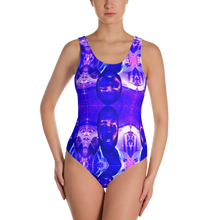 Obstacles Rock Mercury One-Piece Swimsuit