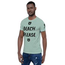 BEACH PLEASE MAN BRAND Short-Sleeve Unisex T-Shirt