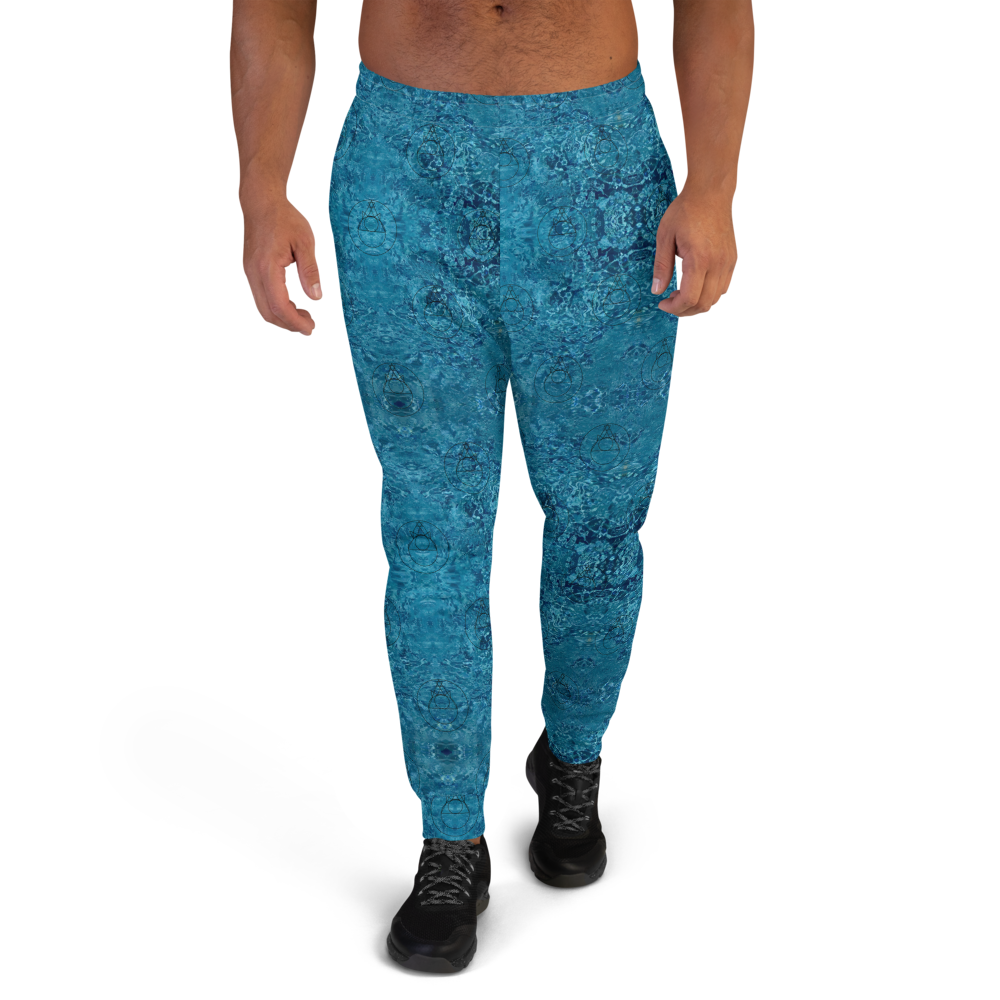 ROCK MERCURY Aqua DRIP Men's Joggers