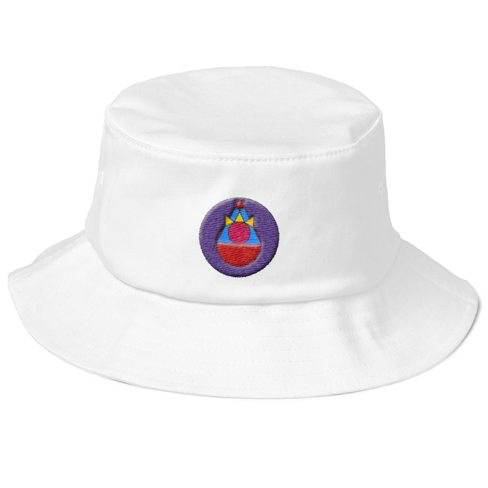 Rock Mercury Old School Bucket Logo Hat