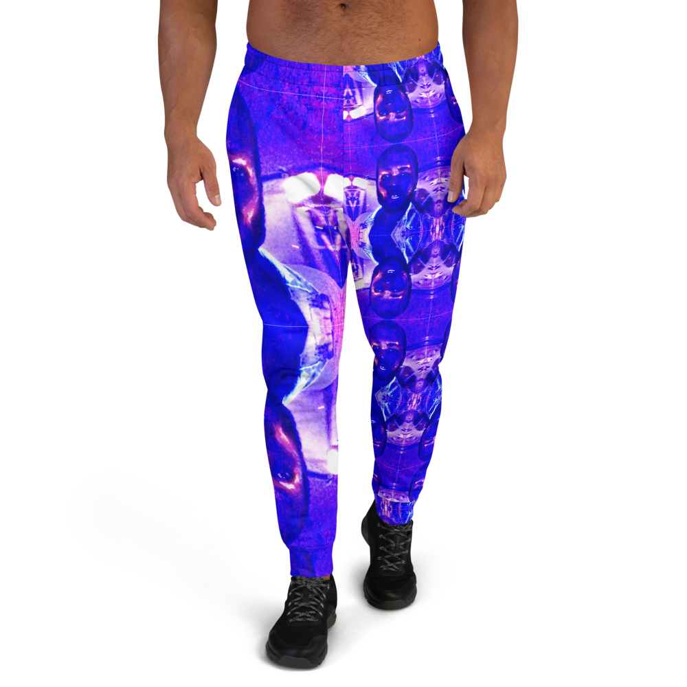 Obstacles Rock Mercury Men's Joggers