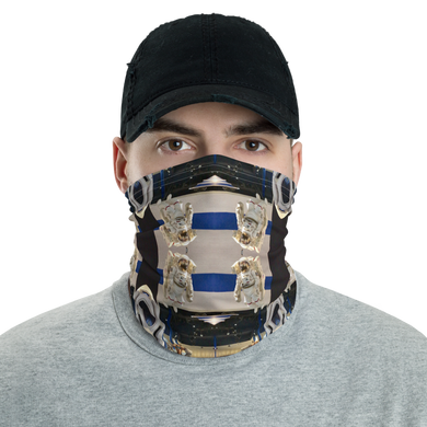 ROCK MERCURY MENTAL SPACE Neck Gaiter