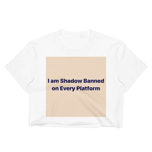 Shadow Banned - Rock Mercury  Crop Top