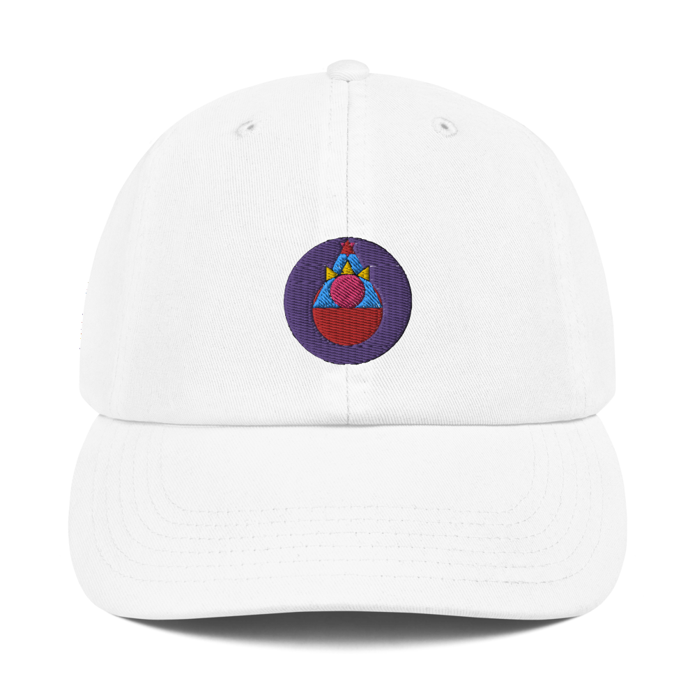 Rock Mercury Champion Dad Cap
