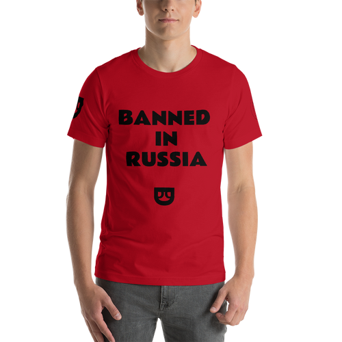BANNED IN RUSSIA Short-Sleeve ROCK MERCURY Unisex T-Shirt