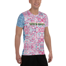 Nitch Bigga Rock Mercury All-Over Print Men's Athletic T-shirt