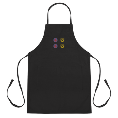 Man Brand X Rock Mercury Embroidered Apron