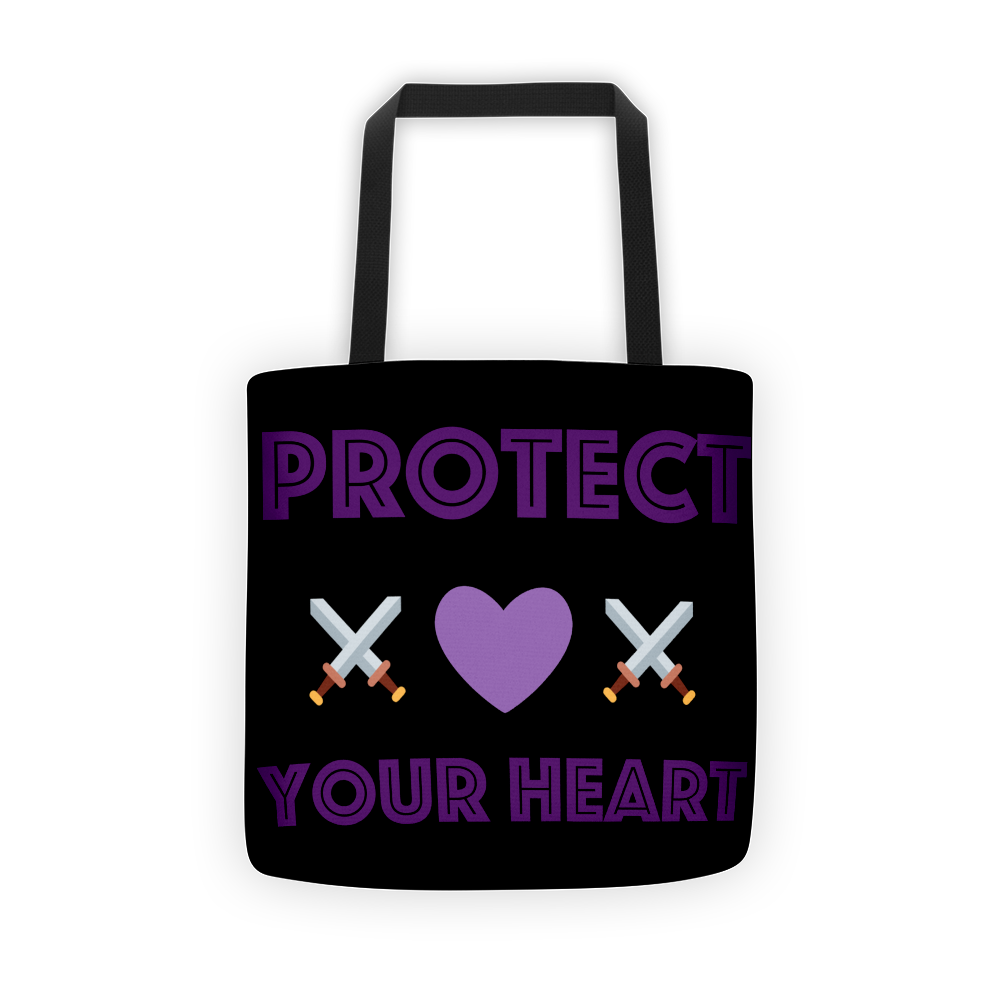 Protect your heart Tote bag