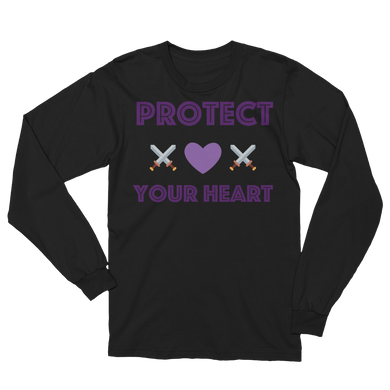 Protect your Heart Unisex Long Sleeve T-Shirt