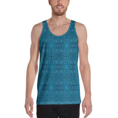Rock Mercury Drip Unisex Tank Top