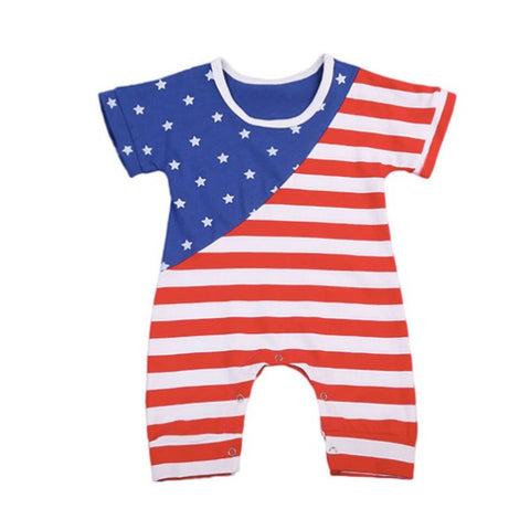 Alex American Flag Jumpsuit