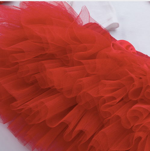 Valentine's TuTu Dress Set