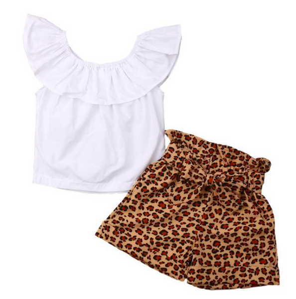 Hallie Leopard Set