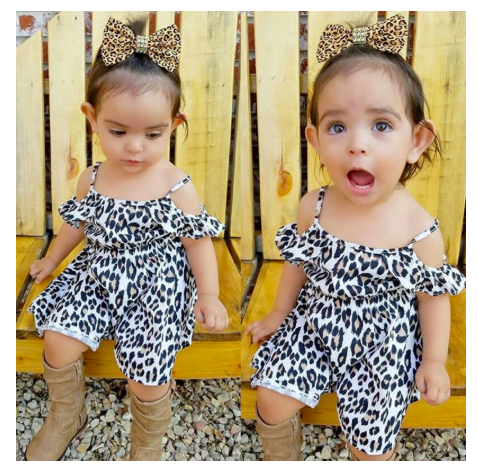 Able Leopard Romper