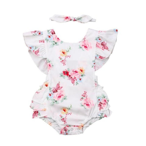 Thessaly Floral Romper