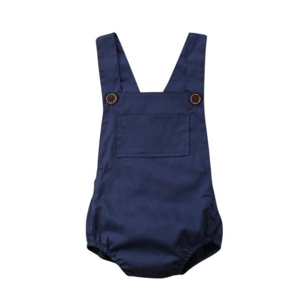 Allison Navy Romper