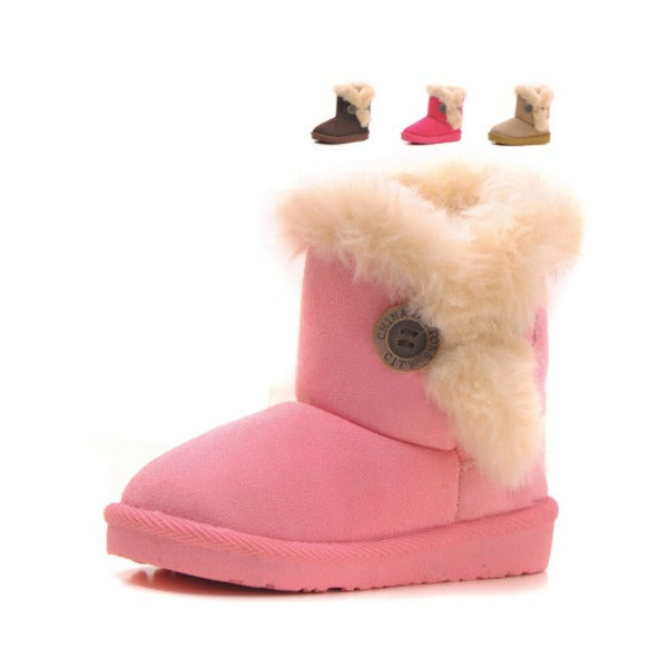 Fur Snow Boots 4 Colors