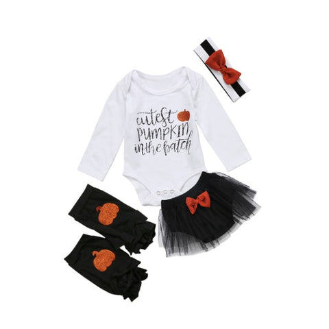 Cutest Pumpkin Tutu Set