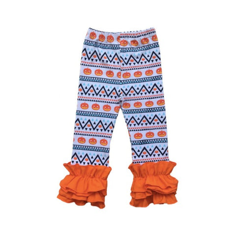 Pumpkin Ruffle Pants