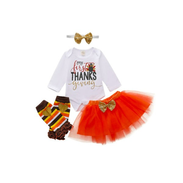 My First Thanksgiving TuTu Set
