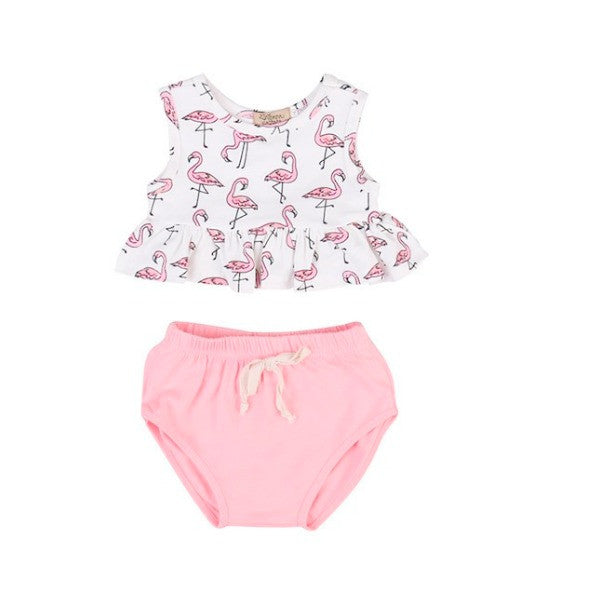 Flamingo Bloomer Set