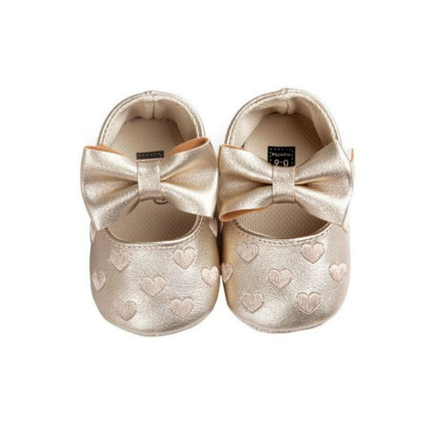 Hearts Bowknot Shoes