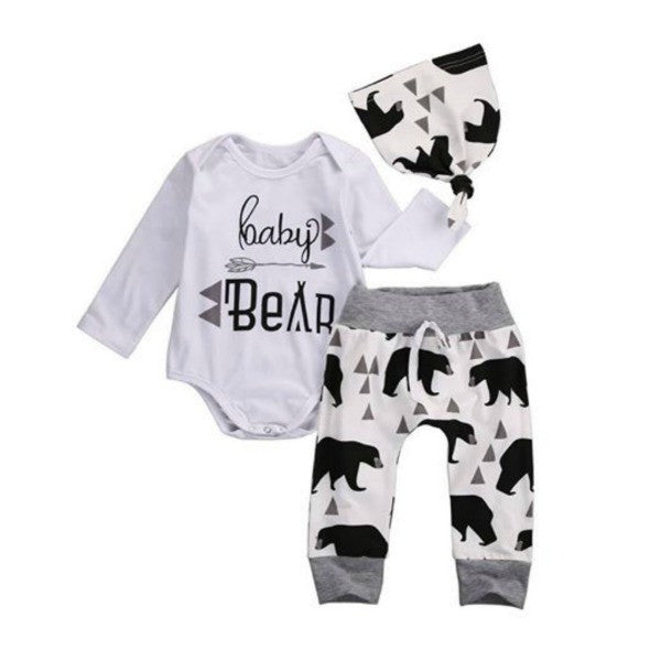 Baby Bear Geometric Set