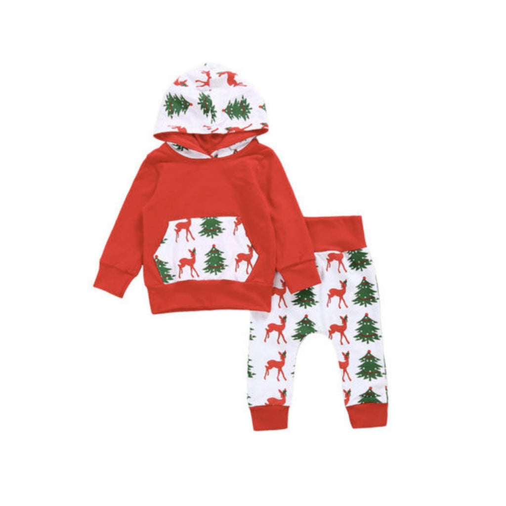 Santa Hooded Set