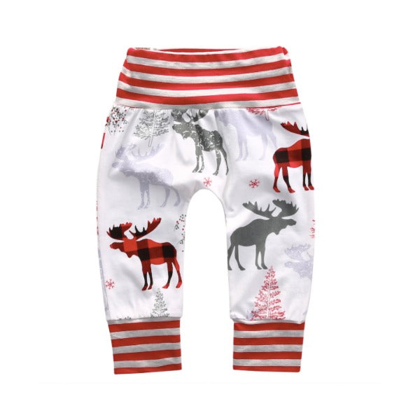 Matching Reindeer Pants